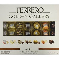 [poledit] Ferrero Golden Gallery Fine Chocolate Assortment Collection (Pack of 42) (T1)/14412155