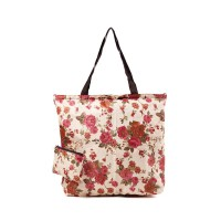 London Berry by HUER - Marvin Packable Shopper Bag Rose Cream