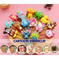 CARTOON Paper Clip/ Klip Kertas/ Bookmark