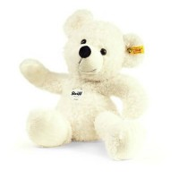 [poledit] Steiff Lotte Teddy Bear Plush, White (T1)/11901570