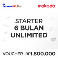[InternetKu] Voucher InetKu Starter 6 Bulan Unlimited