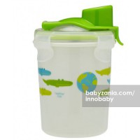 Innobaby Keepin' SMART Double Insulated Stainless Cup 240ml - Green Alligator
