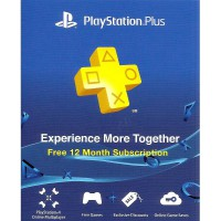 Playstation Plus Asia - 12 Bulan Membership
