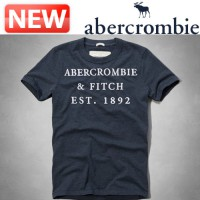Abercrombie Short Sleeve Tee / Clearance Sale A & F Buell Mountain Tee Dark Blue Men's / DC-123-238-1325-024