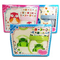 FUNNY FRIENDS BABY GIFT SET - 3 WARNA - GOOD CHOICE FOR BABY