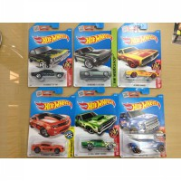 Hot Wheels Reg Paketan 6 pcs