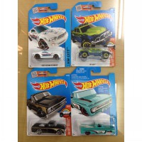 Hot Wheels Reg Paketan 4 pcs