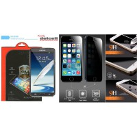 Privacy Tempered Glass by Delcell Samsung Galaxy Note 2 N7100