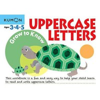 [HelloPanda] Kumon Grow to Know Uppercase Letters (Ages 3,4,5)