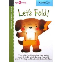[HelloPanda] Kumon First Steps Workbooks LET'S FOLD! (Ages 2 and Up)