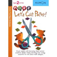 [HelloPanda] Kumon First Steps Workbooks MORE LET'S CUT PAPER! (Ages 2 and Up)