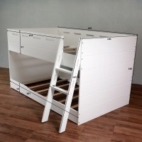 CHARLIE LOW BUNK BED ( NOT INCLUDE MATTRESS )