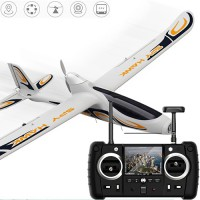 Hubsan H301S SPY HAWK FPV RC Fixed-wing Glider RTF Airplane with 1080P Camera GPS Module - White