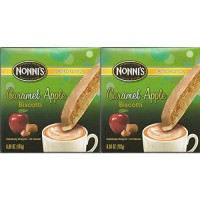 [poledit] Nonni`s Nonnis Limited Edition Caramel Apple Biscotti Individually Wrapped (Pack/14293643