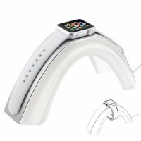 [globalbuy] Creative Rainbow Bridge Charging Stand Bracket for iWatch,Aluminum Alloy Arc D/2617155