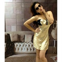 Dress Kemben Gold (BS D 09)