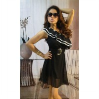 Dress Hitam One Shoulder Sexy (BS D 23)