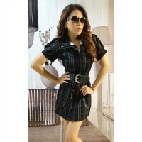 Dress Hitam Casual (BS D 57)