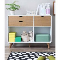 LEMARI HELSINKI 5 DRAWERS WITH DOOR