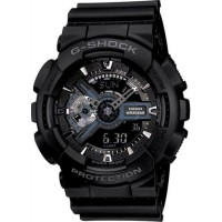 [G-SHOCK] Jam Tangan GA-110-1B Original [EXTRA LARGE ANALOGUE DIGITAL COMBINATION G-SHOCK]
