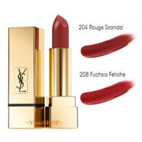 YSL ROUGE PURE COUTURE THE MATS LIPSTICK 204-208