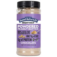 [poledit] Peanut Butter & Co. Mighty Nut Powdered Peanut Butter, Chocolate, 6.5 Ounce Jars/14292697