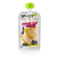 Sprout Organic Blackcurrant Superfruit Puree Spouted Pouch