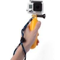 Tongsis Air Floaty Floating Hand Grip Handle Mount - Screw For Gopro Hero 2 3 3+ 4 Kuning -OS097