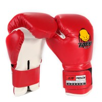 Sarung Tinju Anak, Wolon Kidssparring Boxing Gloves Training Age - Red -OS311
