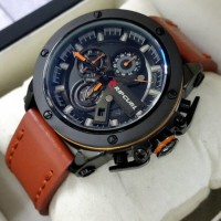 Jam Tangan Pria / Cowok Ripcurl Colorado Leather Brown