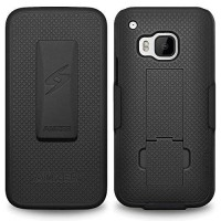 [holiczone] Amzer Shellster Shell Case Belt Clip Holster Cover for HTC One M9 - Retail Pac/229537