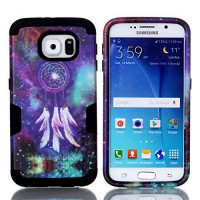 [holiczone] HKW Dream Catcher Pattern 3-in-1 Silicone Plastic Hybrid Bumper Armor Case wit/1669348