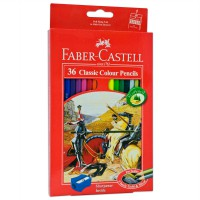 Faber-Castell 115856 Classic Colour Pencils 36 L