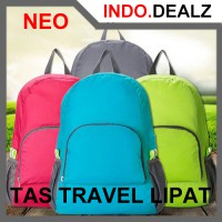 Neo Tas Lipat Travel Parasut Olahraga Foldable Travel Bag For Sport