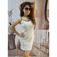 Tanktop Putih Dress (BS TT 82)