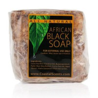 [holiczone] Coastal Scents African Black Soap, 16 Ounce/323172