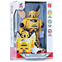 Robot Deform Armored Ares Bumble Bee Transformers Walking robot