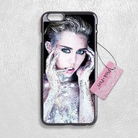 [holiczone] Pink Peri Miley Cyrus Hard Phone Case For iPhone 6 Plus (5.5 inch) case/186265