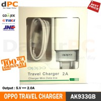 Travel Charger Oppo Original Terjamin 2.0A - AK933GB