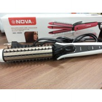 CATOK Lurus Tako Curly   Sisir NOVA 3in1 NCH-8890 CERAMIC Coating