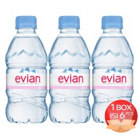 Evian 330 ML Bottle x 6