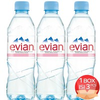 Evian 500 ML Bottle x 3