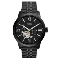 Fossil Townsman Automatic ME3062 - Jam Tangan Pria - Stainless Steel - Silver
