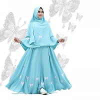 Nuranitex Busana Muslim Dress Yumna Exclusive Cantik - Mewah