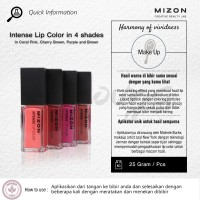 Mizon Intense Lip Color in 4 Shades