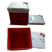 KURSI BOX LIPAT MULTIFUNGSI [ HELLO KITTY / MINNIE MOUSE / MINNIE MOUSE ]