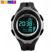SKMEI Pioneer Sport Watch 1080 Original WR 50M - Black Black