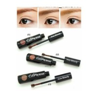 Kiss Beauty Brow Coloring Mascara - Color My Brows - Maskara Alis