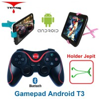 Terios Gamepad T3 + Holder JP Android bluetooth smartphone VR Box wireless TV Box