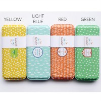 Sunny Weather Tin Pencil Case / Kotak Pinsil / Tempat Pensil Lucu Murah